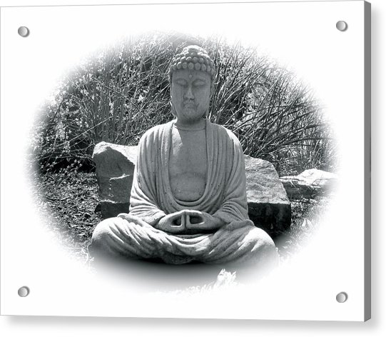 Acrylic Print featuring the painting Zen by Michael Lucarelli