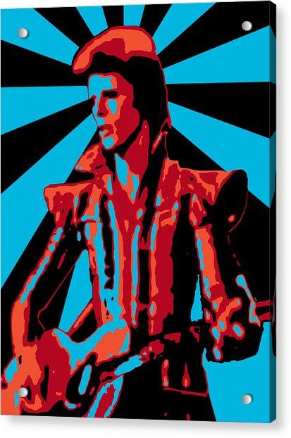 Ziggy Played Guitar Acrylic Print