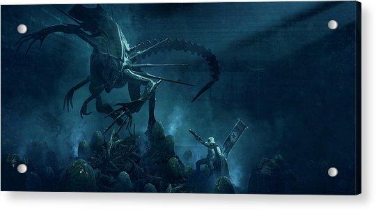 501 Vs Aliens 1 Acrylic Print