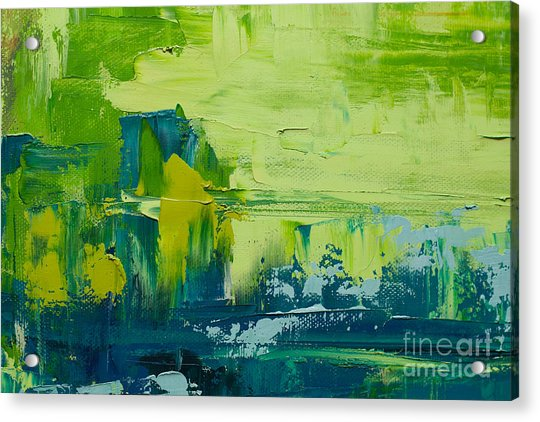 Abstract Art  Background. Oil Painting Acrylic Print