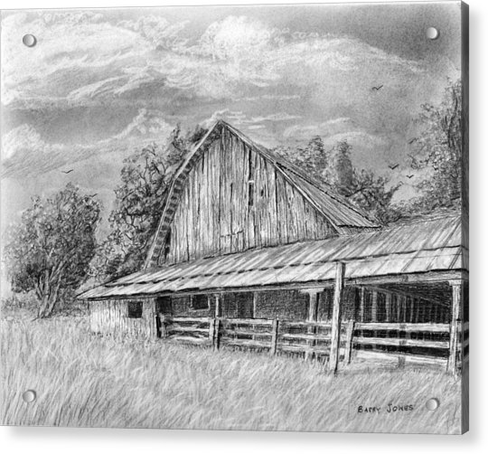 Barn On Byhalia Road Acrylic Print