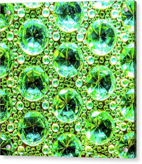 Cut Glass Beads 2 Acrylic Print