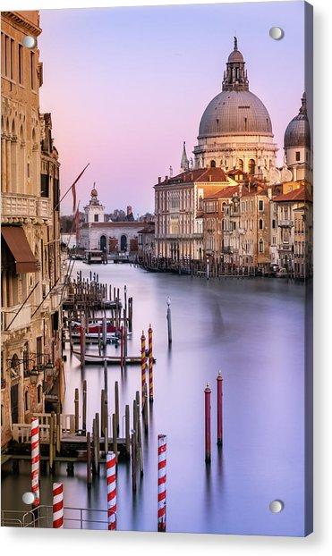 Evening Light In Venice Acrylic Print