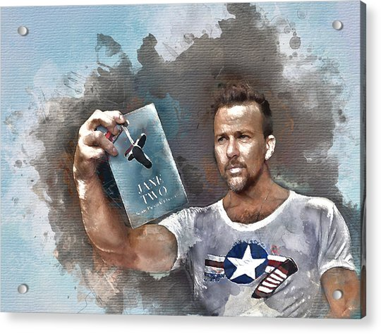 Flanery With Jane Two Acrylic Print