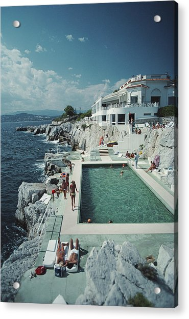 Hotel Du Cap Eden-roc Acrylic Print