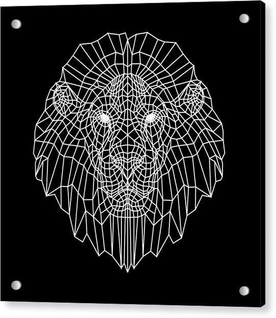 Night Lion Acrylic Print