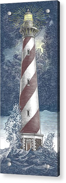 Peace In The Storm Acrylic Print