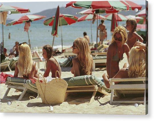 Saint-tropez Beach Acrylic Print