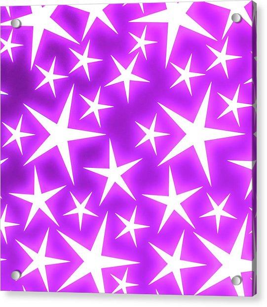 Star Burst 2 Acrylic Print