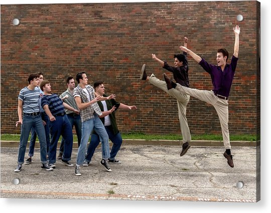 West Side Story 2 Acrylic Print