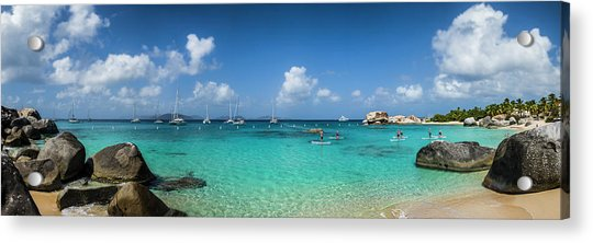 British Virgin Islands, Virgin Gorda Acrylic Print by Walter Bibikow