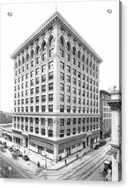 1912 Central Building  Los Angeles  Ca Acrylic Print