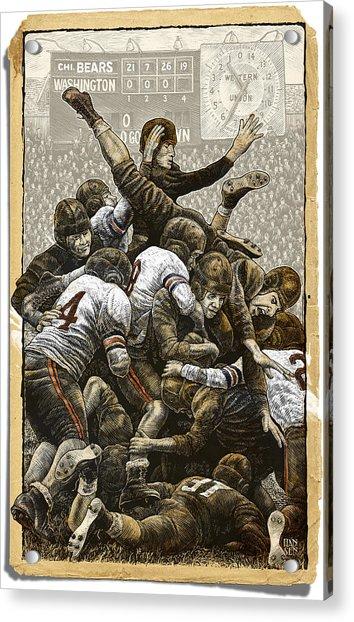 1940 Chicago Bears Acrylic Print