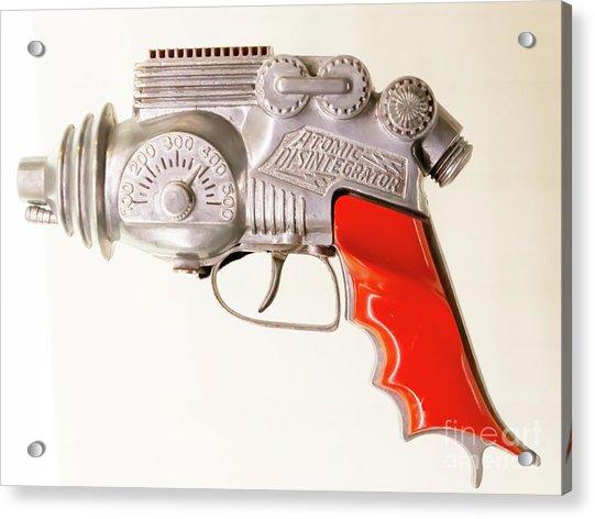 1950s Science Fiction Hubley Atomic Disintegrator Gun R1068 Acrylic Print
