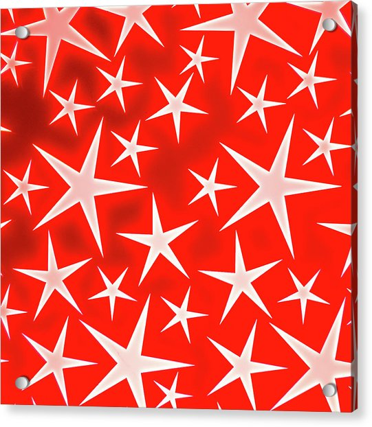 Star Burst 3 Acrylic Print