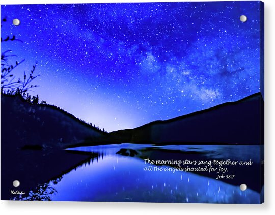 The Morning Stars Acrylic Print