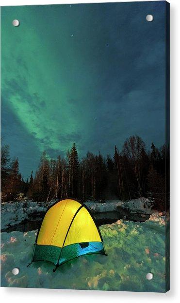 Aurora Borealis, Northern Lights Acrylic Print by Stuart Westmorland