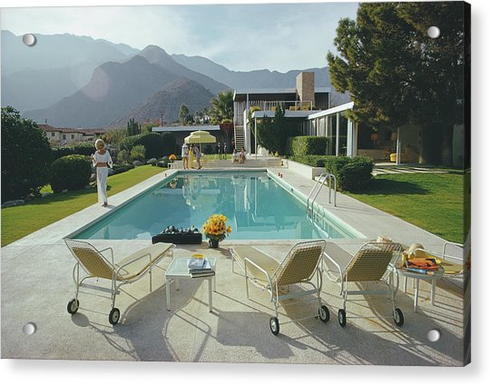 Kaufmann Desert House Acrylic Print