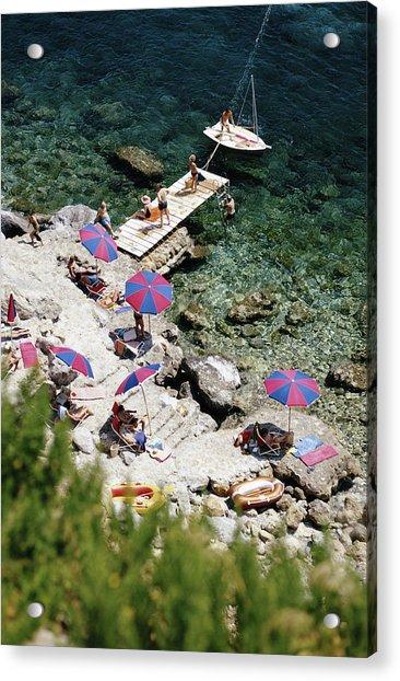 Porto Ercole Acrylic Print