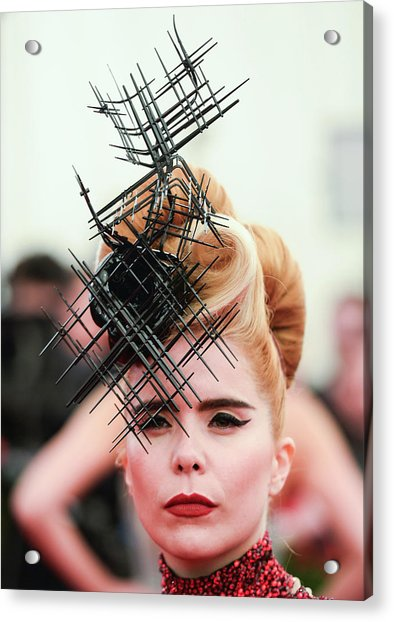 Punk Chaos To Couture Costume Institute Acrylic Print by Andrew H. Walker
