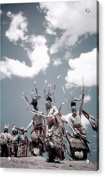 Inter-tribal Indian Ceremonial Acrylic Print by Michael Ochs Archives