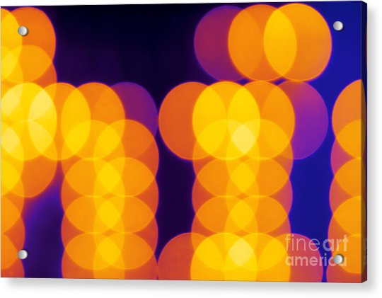 Abstract Lights Acrylic Print