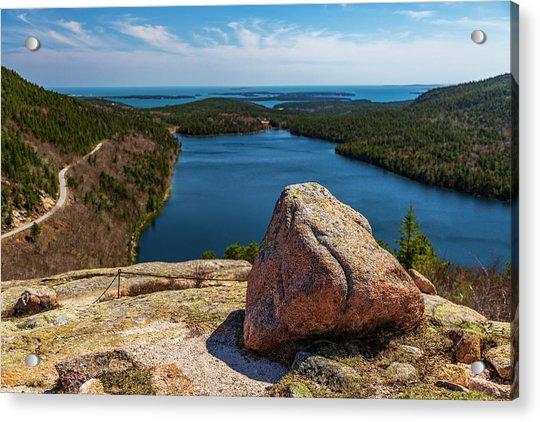 Acadia Np - Peaceful Vista Acrylic Print