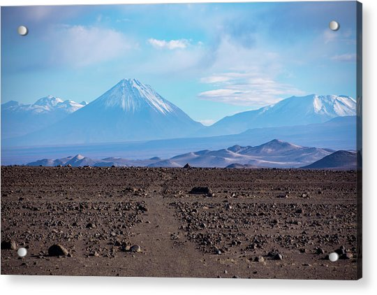 Along The Inca Trail In The Atacama Desert Acrylic Print
