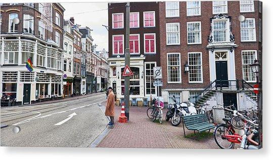Amsterdam Pride Acrylic Print