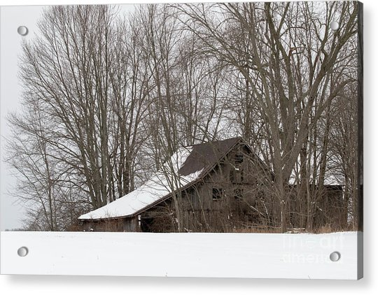 Ancient Barn Acrylic Print