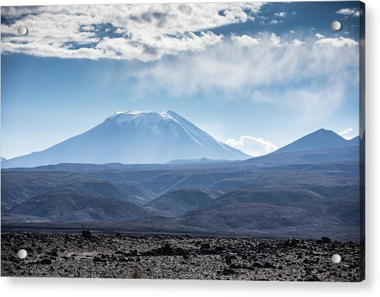 Atacama Volcano Acrylic Print