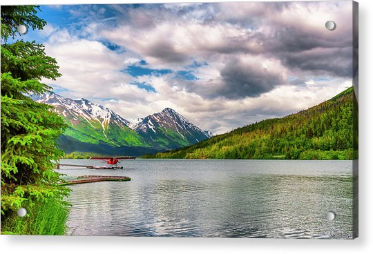 Awe The Draw Of Alaska Acrylic Print