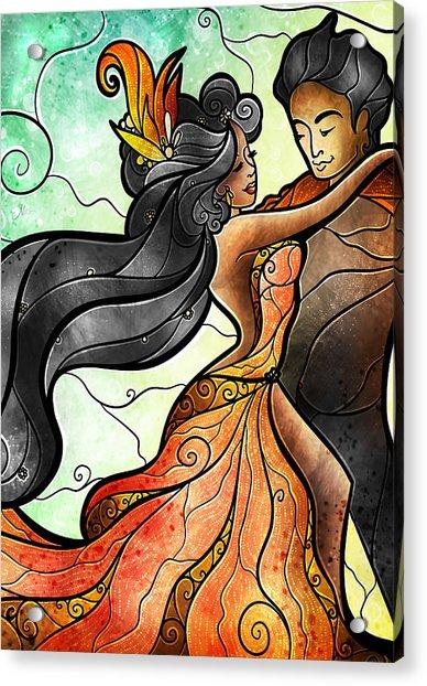 Bailar Conmigo Acrylic Print
