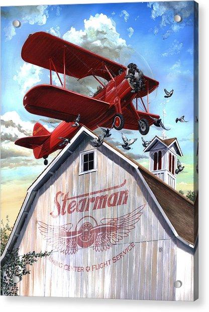 Barn Stormer - Customizeable Acrylic Print