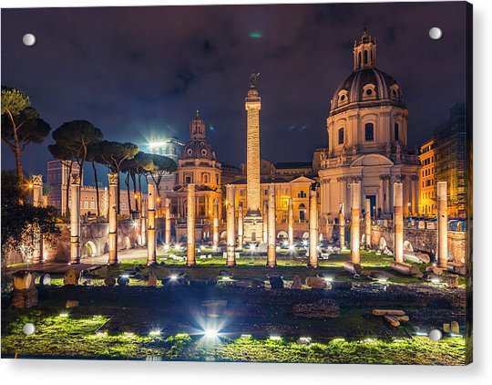 Basilica Ulpia Acrylic Print