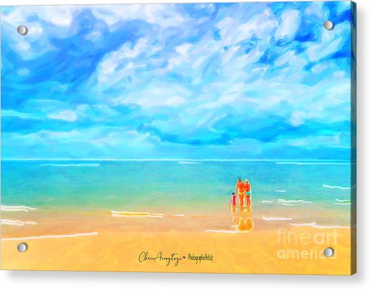 Beach Blues II Acrylic Print