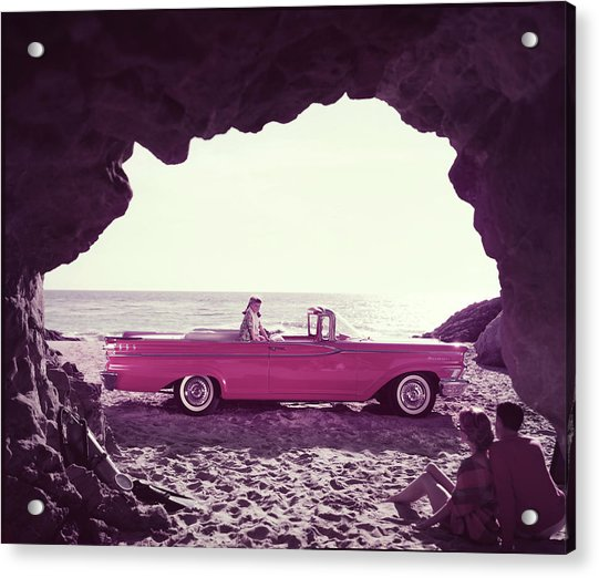 Beached Convertible Acrylic Print by Tom Kelley Archive