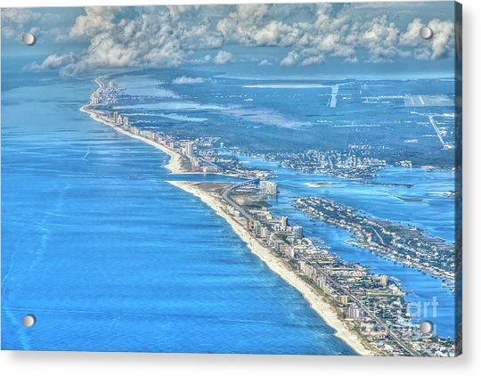 Beachmiles-5137-tonemapped Acrylic Print