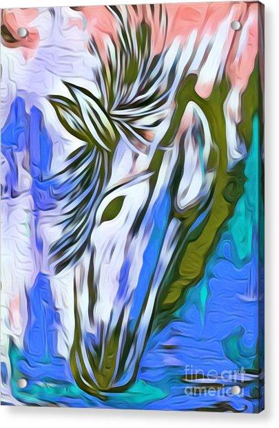 Beautiful One Acrylic Print