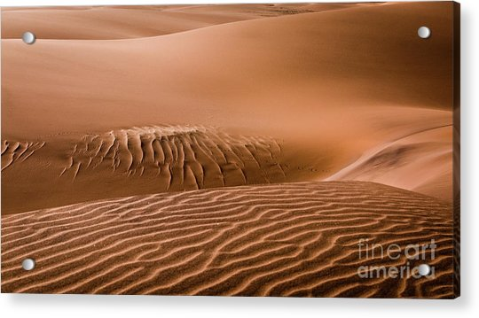 Beautiful Namib Desert 2 Acrylic Print