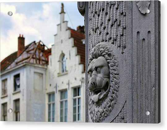 Belgian Coat Of Arms Acrylic Print