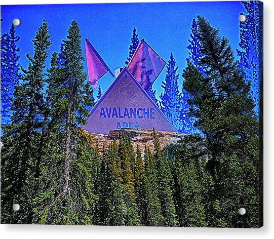 Avalanche Acrylic Print
