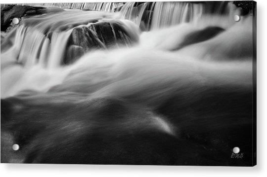Blackstone River Xxxviii Bw Acrylic Print by David Gordon