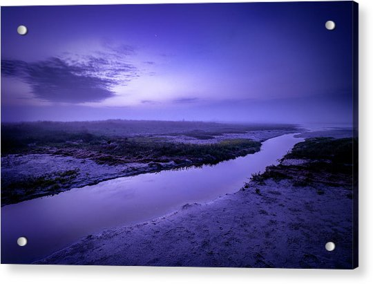 Blue Dawn Acrylic Print
