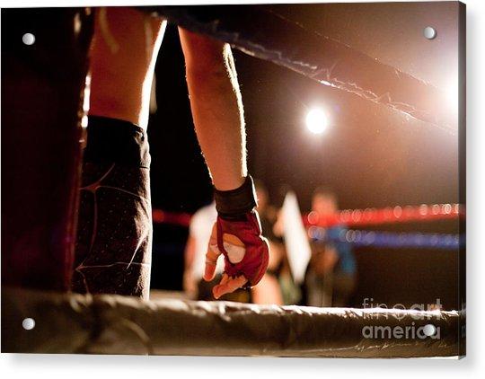 Boxing Match Acrylic Print