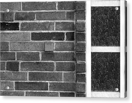 Brick And Glass - 2 Acrylic Print