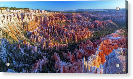 Bryce Canyon Np - Sunrise On Another World Acrylic Print