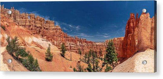 Bryce Canyon Np - Walls, Windows And Hoodoos, Oh My Acrylic Print
