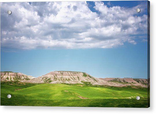 Buffalo Gap National Grassland South Dakota Acrylic Print