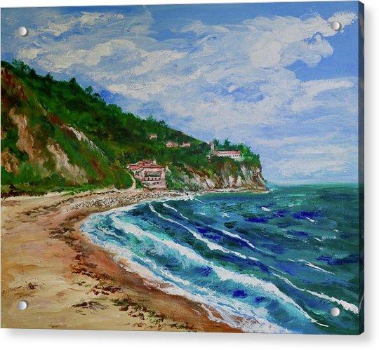 Burnout Beach, Redondo Beach California Acrylic Print